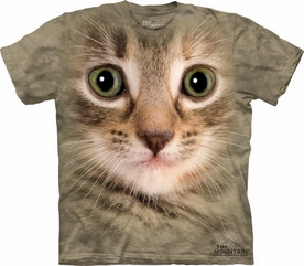 THE MOUNTAIN T-SHIRT KITTEN FACE TEE