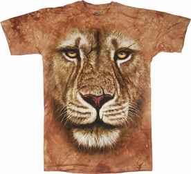 THE MOUNTAIN T-SHIRT LION WARRIOR TEE