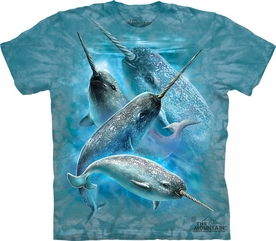 THE MOUNTAIN T-SHIRT NARWHALS TEE