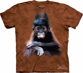 THE MOUNTAIN T-SHIRT ORANGUTAN BABY  TEE