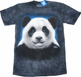 THE MOUNTAIN T-SHIRT PANDA HEAD TEE
