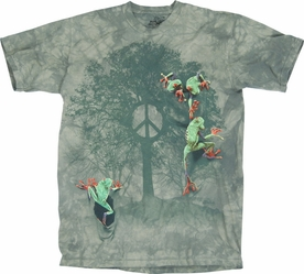 THE MOUNTAIN T-SHIRT PEACE TREE FROG TEE