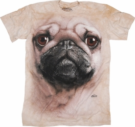 THE MOUNTAIN T-SHIRT PUG FACE TEE