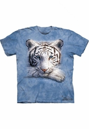 THE MOUNTAIN T-SHIRT RESTING TIGER YOUTH TEE