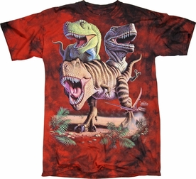 THE MOUNTAIN T-SHIRT REX COLLAGE TEE