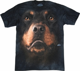 THE MOUNTAIN T-SHIRT ROTTWEILER FACE TEE