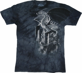 THE MOUNTAIN T-SHIRT SILVER DRAGON TEE