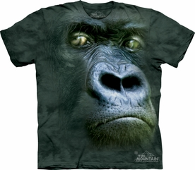 THE MOUNTAIN T-SHIRT SILVERBACK PORTRAIT ADULT TEE
