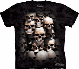 THE MOUNTAIN T-SHIRT SKUL CRYPT TEE