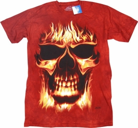 THE MOUNTAIN T-SHIRT SKULFIRE TEE