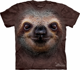 THE MOUNTAIN T-SHIRT SLOTH FACE TEE