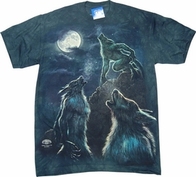 THE MOUNTAIN T-SHIRT THREE WEREWOLF MOON TEE