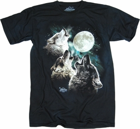THE MOUNTAIN T-SHIRT THREE WOLF MOON TEE