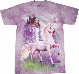 THE MOUNTAIN T-SHIRT UNICORN CASTLE YOUTH TEE