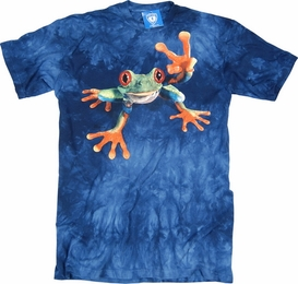 THE MOUNTAIN T-SHIRT VICTORY FROG TEE