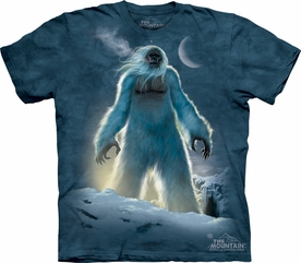 THE MOUNTAIN T-SHIRT YETI  TEE