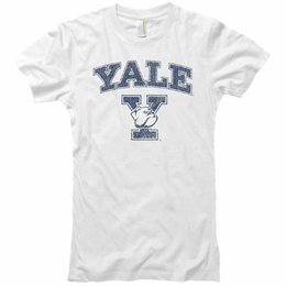 YALE UNIVERSITY BULLDOGS VINTAGE JUNIORS T-SHIRT