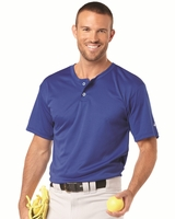 Badger - B-Dry Core Baseball Henley - 7930 - S-3XL - 6 Colors