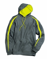 Badger - Fusion Colorblock Polyester Fleece Hooded Pullover - 1467 - 7 Colors - S-3XL