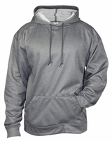 Badger - Pro Heather Performance Fleece Hooded Pullover - 1450 - 6 Colors - S-3XL