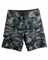 Burnside - Camo-Diamond Dobby Board Shorts - B9371 - 2 Colors - 30-40