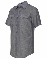 Burnside - Chambray Short Sleeve Shirt - B9255 - 2 Colors - S-3XL