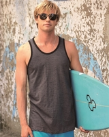 Burnside - Injected Slub Tank Top - B9102 - S-3XL - 5 Colors