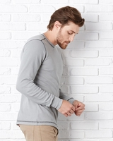 Canvas Long Sleeve Contrast Stitch Lombard Thermal T-Shirt - 3500 - 9 Colors