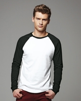 Canvas - Long Sleeve Raglan Hawthorne Baseball T-shirt - 3000 - 11 Colors