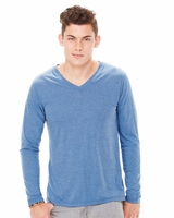 Canvas - Long Sleeve V-Neck T-Shirt - 3425 - 5 Colors - S-2XL