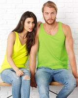 Canvas - Unisex Jersey Tank - 3480 - 41 Colors - XS-2XL