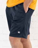 Champion - Long Mesh Shorts with Pockets - S162 - S-2XL - 6 Colors