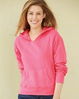 Comfort Colors - Womens Garment Dyed Ringspun Hooded Pullover - 1595 - S-XL - 8 Colors