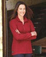 DRI DUCK - Fusion Ladies ¼ Quarter Zip Nano-Fleece Pullover - 9397 - 6 Colors