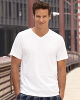 Fruit of the Loom - V-Neck Heavy Cotton 100% T-Shirt - 39VR - S-3XL - 6 Colors