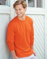 Hanes Long Sleeve Beefy-T - 5186 - 15 Colors - S-3XL