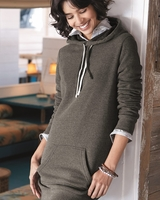 Independent Trading Co. - Womens Special Blend Hooded Pullover Sweatshirt Dress - PRM65DRS - 3 Colors - XS-XL