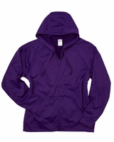 JERZEES - 100% Polyester Fleece Full-Zip Hooded Sweatshirt - PF93MR