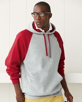 JERZEES - Nublend Colorblocked Hooded Pullover Sweatshirt - 96CR - S-3XL - 4 Colors