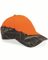 Kati - Licensed Camo Cap with Barbed Wire Embroidery - LC4BW - 11 Colors