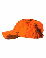 Kati - Structured Mossy Oak Breakup or Realtree Blaze Orange Camo Cap - SN200