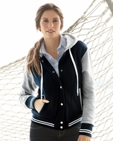 MV Sport - Ladies Varsity Sweatshirt - W2344 - S-2XL - 3 Colors