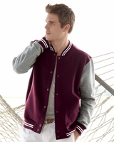 MV Sport - Varsity Sweatshirt Jacket - 2369 - S-2XL - 4 Colors