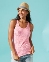 Next Level - Ladies Racerback Burnout Tank Top - 6533 - 12 Colors - S-2XL