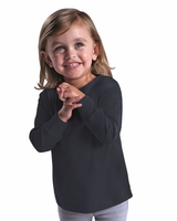 Rabbit Skins - Fine Jersey Toddler Long Sleeve T-Shirt - 3302 - 11 Colors
