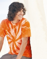 Tie-Dyed - Neon Tone-on-Tone Pinwheel Short Sleeve T-Shirt - 200TT - S-3XL - 5 Colors