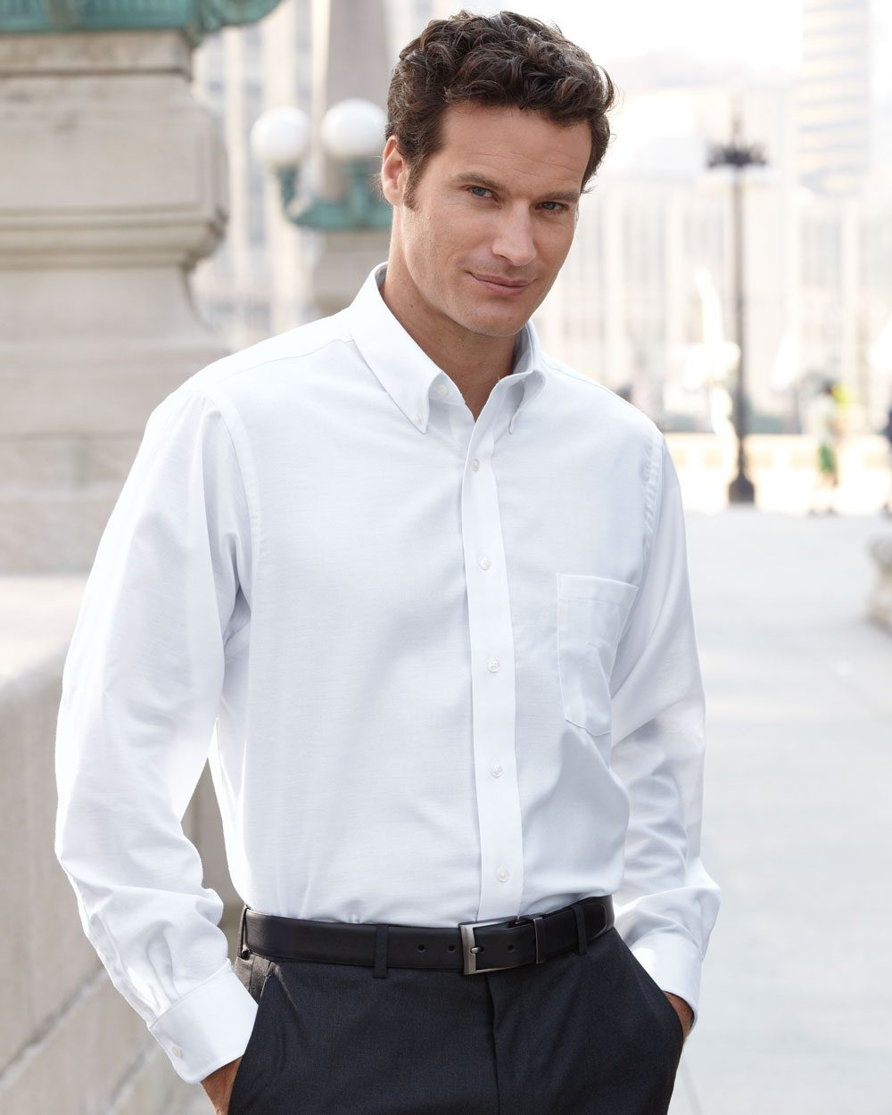 How to Wear an Oxford Shirt Easily one of the best shirts for men, the humble Oxford shirt for men is a time-honoured wardrobe essential that every guy should own. The ultimate shirt for both casual and formal looks, and with such a variety of colours and fabrics, you'll always find .