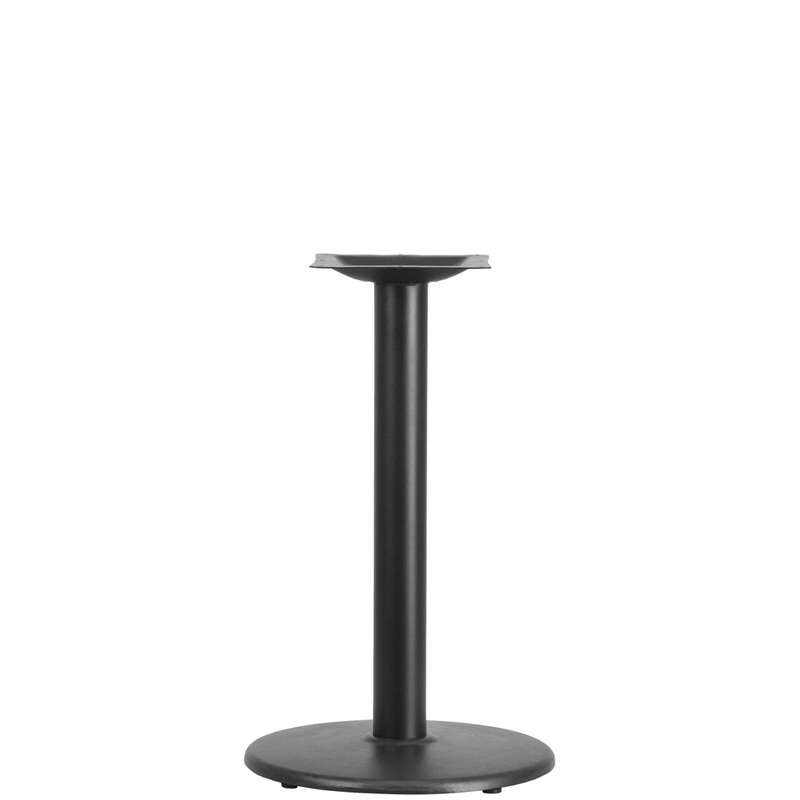 18'' Round Base with 3'' Dia. Table Height Column, BFHD-6 ...