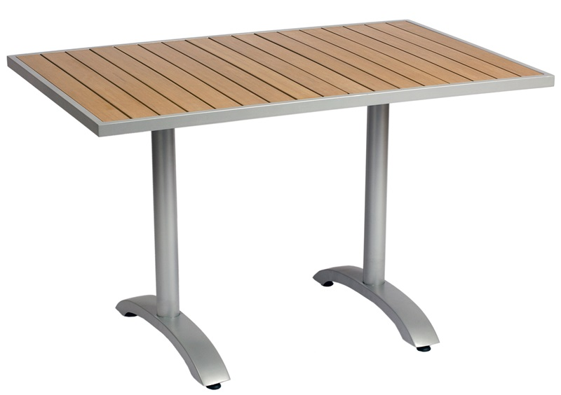 32 X 48 Rectangular Synthetic Teak Outdoor Table Top