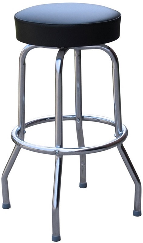 50s Retro Backless 24H Swivel Bar Stool with Chrome  : 50 s retro backless 24 h swivel bar stool with chrome frame and padded seat black vinyl 0 1950blk24 rsc 3 from www.restaurantfurniture4less.com size 471 x 800 jpeg 51kB